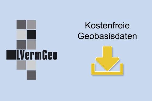 Kostenfreie Geobasisdaten