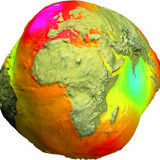 Geoid [Abbildung: GFZ-Deutsches GeoForschungsZentrum]