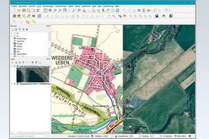 WMS in einem Geoinformationssystem