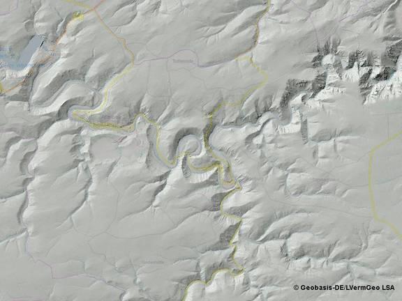 DGM5-Reliefschummerung